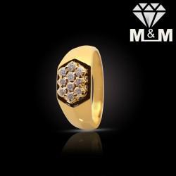 Splendid Gold Diamond Fancy...
