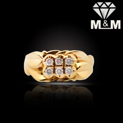 Unrivaled Gold Diamond...