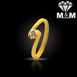Classy Gold Diamond Fancy Ring