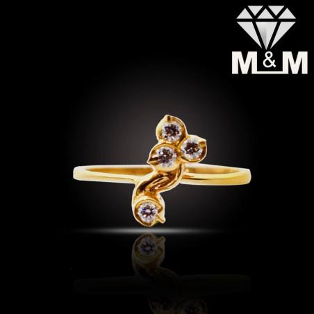 Alluring Gold Diamond Fancy Ring