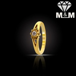 Tasteful Gold Diamond Fancy...