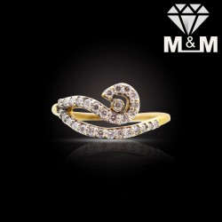 Ethereal Gold Diamond Fancy...