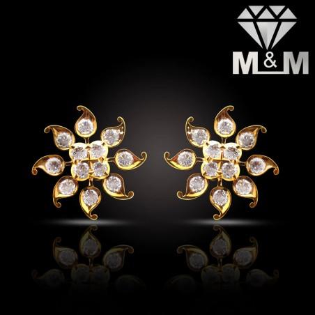 Adorable Gold Diamond Fancy Earring