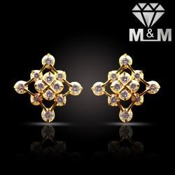Attractive Gold Diamond...