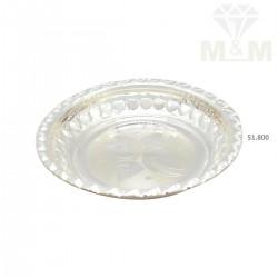 Sparkling Silver Fancy Plate