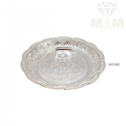 Blessed Silver Fancy Plate