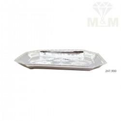 Charismatic Silver Fancy Plate