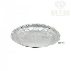 Grandeur Silver Fancy Plate
