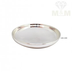 Amiably Silver Fancy Plate