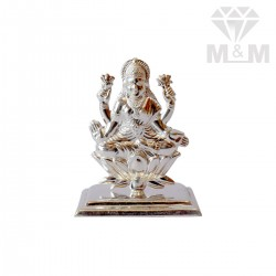 Prettiest Silver Lakshmi Idol