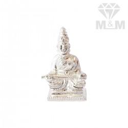 Classy Silver Annapoorani Idol