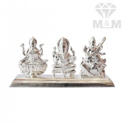 Tranquil Silver Lakshmi And...