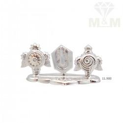Modern Silver Fancy Pathi...