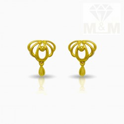 Unparalleled Gold Casting Stud
