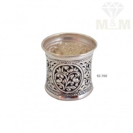 Consummate Silver Antique Panja Pathiram