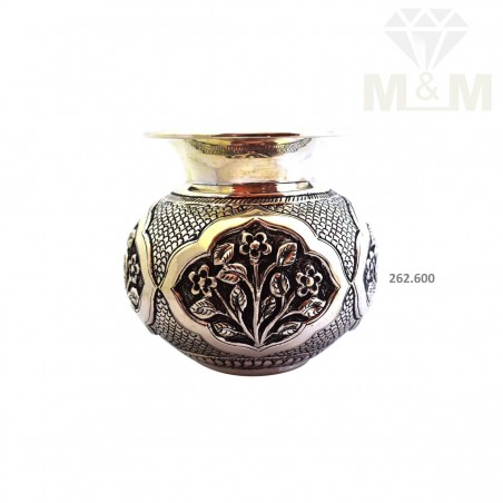 Dramatic Silver Antique Sombu