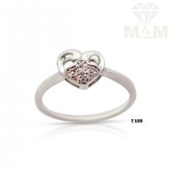 Aesthetic Silver Fancy Ring