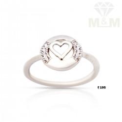 Dainty Silver Fancy Ring