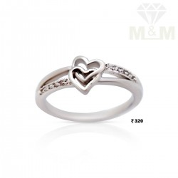 Nifty Silver Fancy Ring