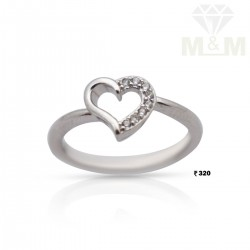 Personable Silver Fancy Ring
