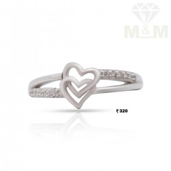 Pleasant Silver Fancy Ring