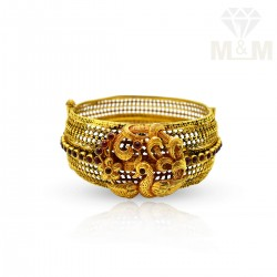 Sublime Gold Antique Bangle