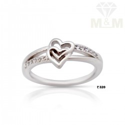 Seductive Silver Fancy Ring