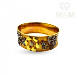 Grandeur Gold Fancy Bangle