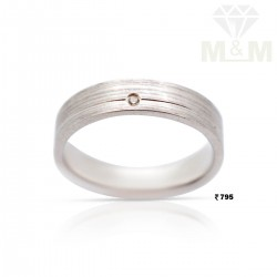 Stupendous Silver Wedding Ring