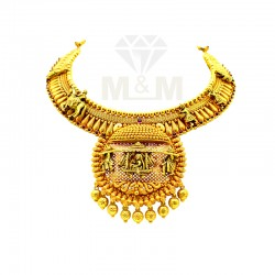 Ancient Gold Fancy Necklace