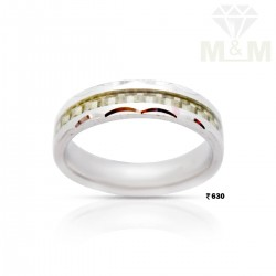 Touches in Mind Silver Wedding Ring
