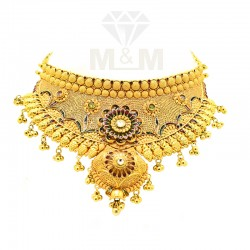 Fantastic Gold Fancy Necklace