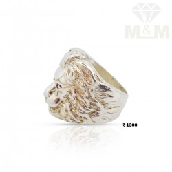 Unbelievable Silver Lion Ring