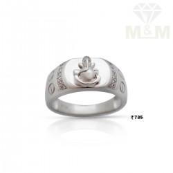 Wonderful Silver Ganesha Ring