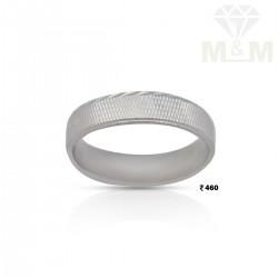 Verdant Silver Wedding Ring