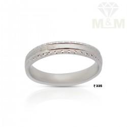 Alluring Silver Wedding Ring