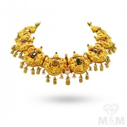 Fabled Gold Antique Necklace