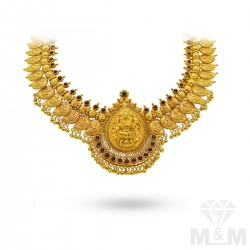 Haunting Gold Antique Necklace
