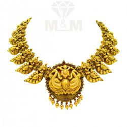 Exotic Gold Nagas Necklace