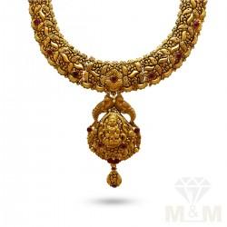 Jazziest Gold Antique Necklace