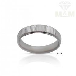 Tasteful Silver Wedding Ring