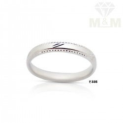 Joyful Silver Wedding Ring