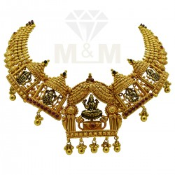 Luxury Gold Antique Necklace
