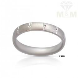 Luxurious Silver Wedding Ring