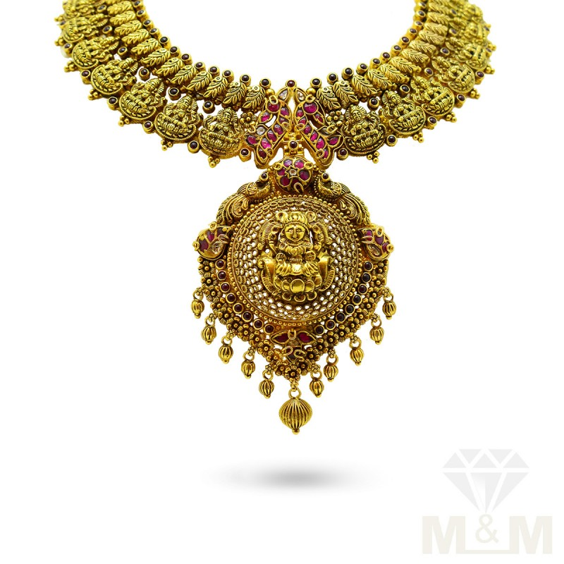 Antique Jewellery Gold Fancy Necklace