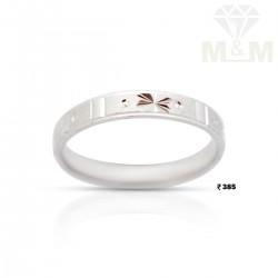 Fortunate Silver Wedding Ring