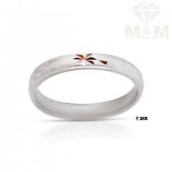 Gallant Silver Wedding Ring