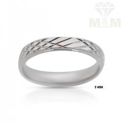 Seductive Silver Wedding Ring