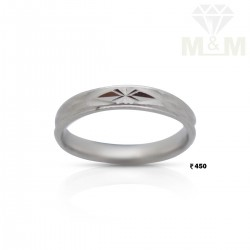 Exemplary Silver Wedding Ring