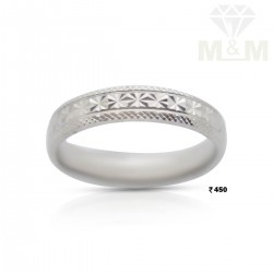 Splendid Silver Wedding Ring